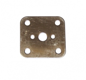 74x Motor Adaptor Plate 3x3 Hole Stainless
