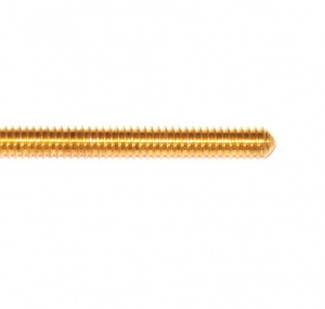 78 Screwed Rod 11½'' Brass