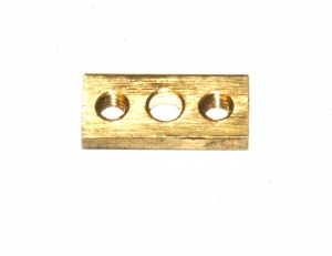 83 Threaded Nut Plate ¾'' XOX