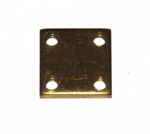 83z Threaded Nut Plate ¾'' Square