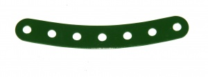 84 Curved Strip 7 Hole Green