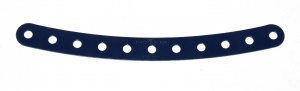 89 Curved Strip 11 Hole Dark Blue Original