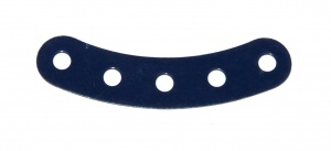 90 Curved Strip 5 Hole Dark Blue Original