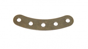90 Curved Strip 5 Hole Nickel Original
