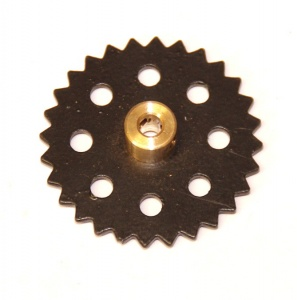 95a Sprocket 28 Teeth Black