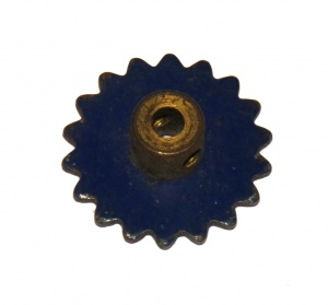96 Sprocket 18 Teeth Blue Original