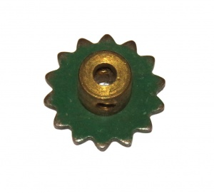 96a Sprocket 14 Teeth Mid Green Original