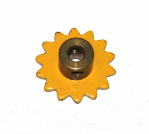 96a Sprocket 14 Teeth UK Yellow Original