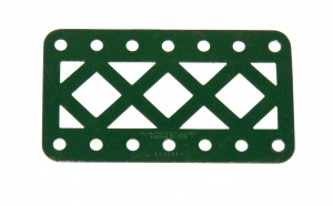 97DC Double Braced Girder 7 Hole Dark Green Original