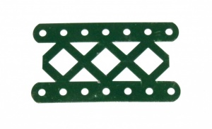 97DO Double Braced Girder 7 Hole Dark Green Original