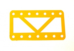 97SC Single Braced Girder 7 Hole UK Yellow