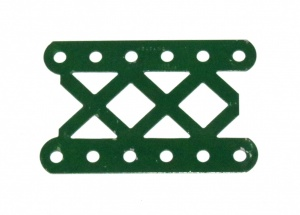 97aDO Double Braced Girder 6 Hole Dark Green Original