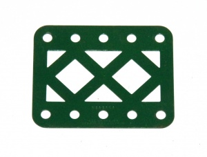 98DC Double Braced Girder 5 Hole Dark Green Original