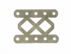 98DO Double Braced Girder 5 Hole Nickel Original