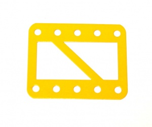 98SC Single Braced Girder 5 Hole UK Yellow