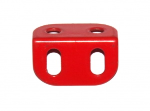 9L Angle Girder 2 Hole Light Red Original