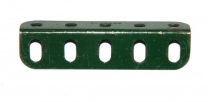 9d Angle Girder 5 Hole Dark Green Original