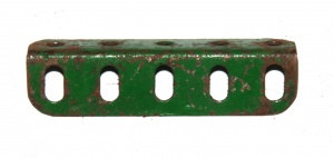 9d Angle Girder 5 Hole Green Seconds