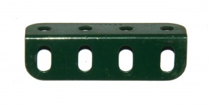 9e Angle Girder 4 Hole Dark Green Original