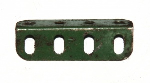 9e Angle Girder 4 Hole Green Seconds