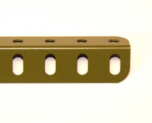 9 Angle Girder 11 Hole Army Green Original