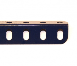 7b Angle Girder 31 Hole Dark Blue