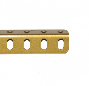 8 Angle Girder 25 Hole Gold Repainted
