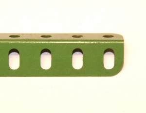 8 Angle Girder 25 Hole Light Green Original