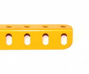 8a Angle Girder 19 Hole UK Yellow Original