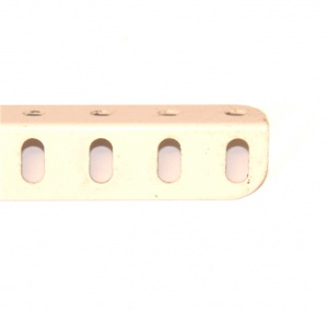 9b Angle Girder 7 Hole White Original