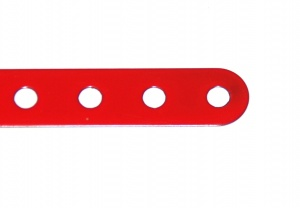 B482 Flexible Strip 9 Hole Red Original