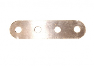 B485 Flexible Strip 4 Hole Stainless