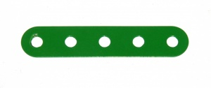 B487 Flexible Strip 5 Hole Mid Green Original