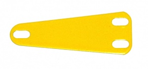 B581 Isosceles Triangular Flexible Plate French Yellow Original