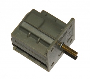 B816 Electric Cube Motor 3-6 Volt DC Socket Triflat Original
