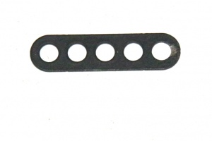 C768 Narrow Connector Strip 5 Hole 1 3/8'' Black Original