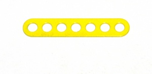 C769 Narrow Connector Strip 7 Hole 1 7/8'' Yellow Original