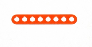 C770 Narrow Connector Strip 8 Hole 2 1/8'' Orange Original