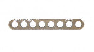 C770 Narrow Connector Strip 8 Hole 2 1/8'' Zinc Original