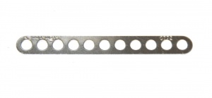 C772 Narrow Connector Strip 11 Hole 2 7/8'' Zinc Original