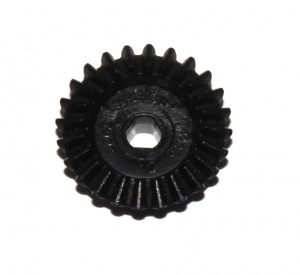 C921 Bevel Gear 24 Teeth Black Plastic