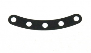C947 Flexible Narrow Curved Strip 5 Hole Black Original