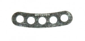 C960 Curved Narrow Connector Strip 5 Hole Zinc Original