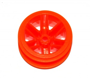 C996 Road Wheel Centre 40mm x 26mm Orange Original