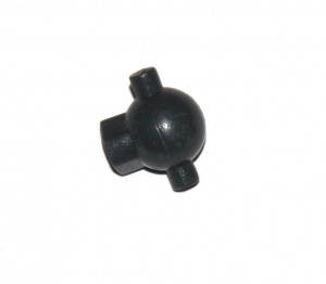 D108 Universal Joint Male Half Grey Plastic Original