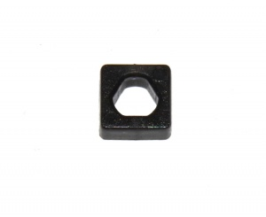 D277 Square Lock Nut Triflat Black Plastic Original