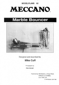 MP62 Marble Bouncer Plan