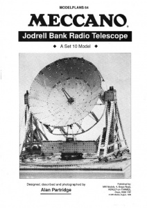 MP64 Jodrell Bank Radio Telescope