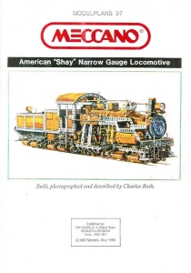 MP097 American Shay Locomotive Plan
