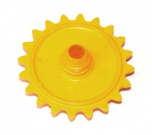 Meccano red 10 tooth plastic Sprocket Part P84